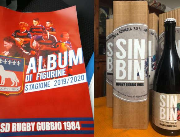 """ALBUM E """"SIN BIN"""", E' NATALE IN CASA RUGBY GUBBIO"""